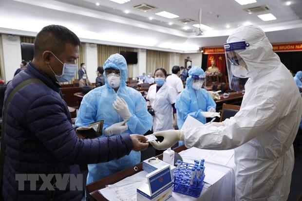 Personal medico de Vietnam capacitado para prestar servicios en el XIII Congreso Nacional del Partido hinh anh 1