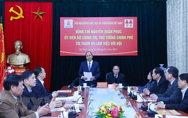 Insta premier de Vietnam a impulsar concientizacion publica sobre consecuencias de dioxina hinh anh 1