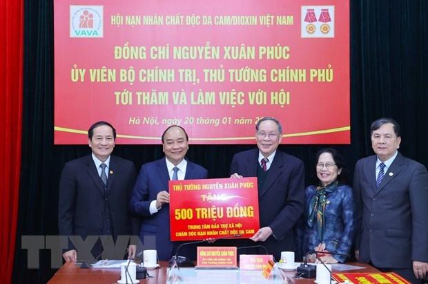 Insta premier de Vietnam a impulsar concientizacion publica sobre consecuencias de dioxina hinh anh 2