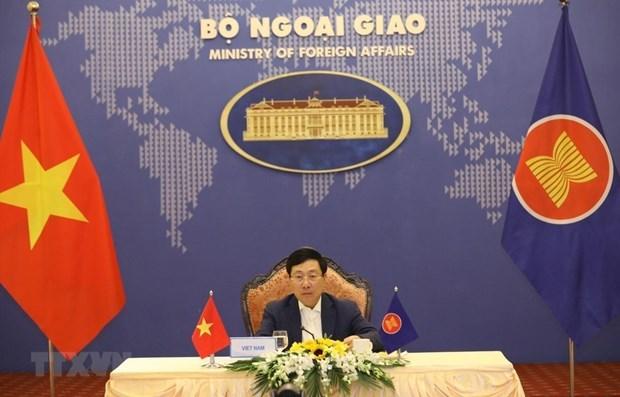 Vietnam participa en Reunion de ministros de Relaciones Exteriores de ASEAN hinh anh 1