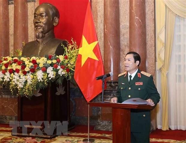 Promueven a rango de coronel general a viceministros de Defensa de Vietnam hinh anh 3