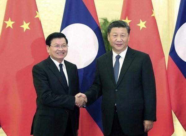 China y Laos buscan impulsar relaciones bilaterales hinh anh 1