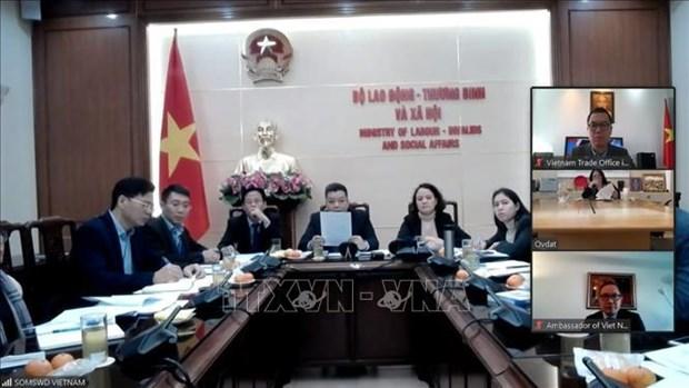 Vietnam e Israel inician negociaciones sobre cooperacion laboral hinh anh 1