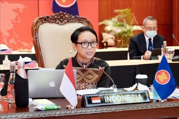 Indonesia trabaja por acelerar establecimiento de corredores de viajes de la ASEAN hinh anh 1