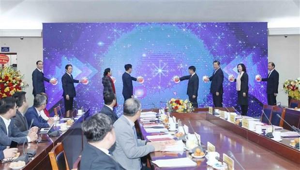 Inauguran sitio web de informacion al exterior del Partido Comunista de Vietnam hinh anh 1