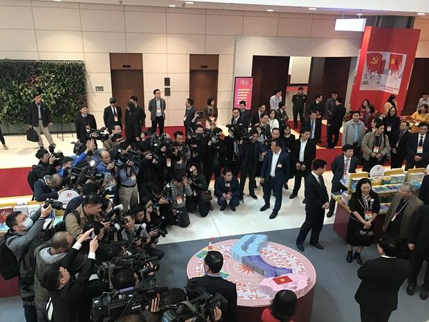 Mas de 200 medios de prensa cubriran el XIII Congreso Nacional del Partido Comunista de Vietnam hinh anh 1