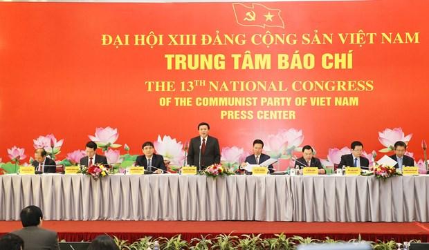 XIII Congreso Nacional del Partido: Por una estructura de personal razonable hinh anh 1