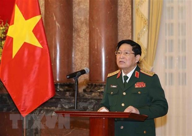 Promueven a rango de coronel general a viceministros de Defensa de Vietnam hinh anh 2