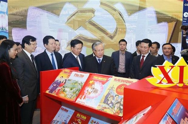 En funcionamiento Centro de Prensa del XIII Congreso Nacional partidista de Vietnam hinh anh 2