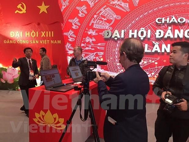 Mas de 200 medios de prensa cubriran el XIII Congreso Nacional del Partido Comunista de Vietnam hinh anh 4