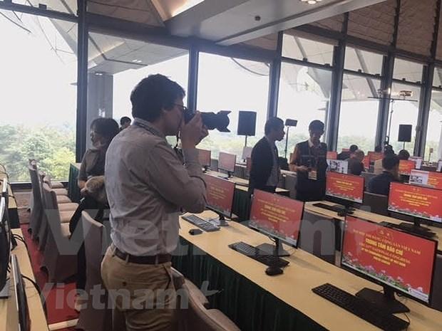 Mas de 200 medios de prensa cubriran el XIII Congreso Nacional del Partido Comunista de Vietnam hinh anh 5
