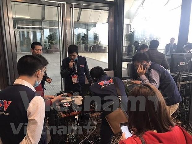 Mas de 200 medios de prensa cubriran el XIII Congreso Nacional del Partido Comunista de Vietnam hinh anh 3
