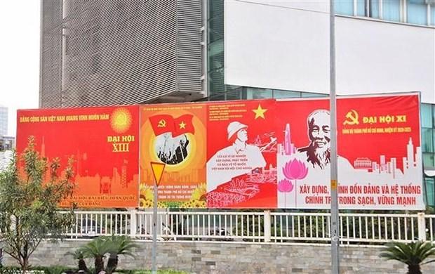 Presidente del Partido Comunista ruso desea exito al XIII Congreso Nacional del PCV hinh anh 1