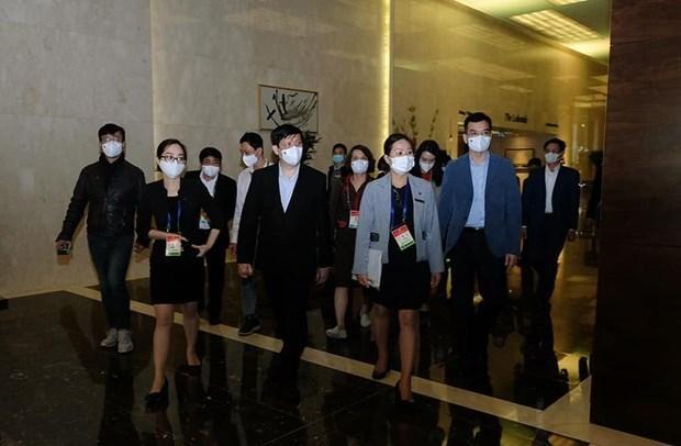 Preparan planes para seguridad sanitaria en el XIII Congreso Nacional del Partido hinh anh 1
