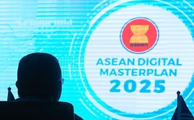 Aprueban plan maestro digital de la ASEAN 2025 hinh anh 1
