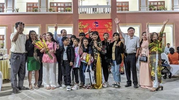 Vietnamitas en Camboya esperan con impaciencia el XIII Congreso Nacional del Partido Comunista hinh anh 1