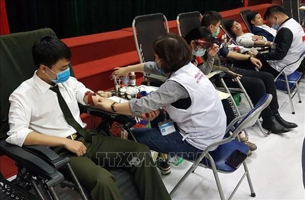 Lanzan en localidades vietnamitas programa de donacion de sangre voluntaria hinh anh 1