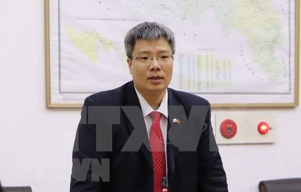Empresario vietnamita en extranjero resalta importancia de magna cita partidista hinh anh 1