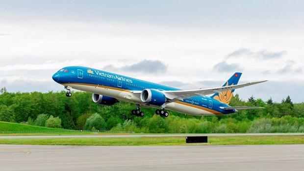 Vietnam Airlines por brindar mejor servicio al XIII Congreso Nacional partidista hinh anh 1