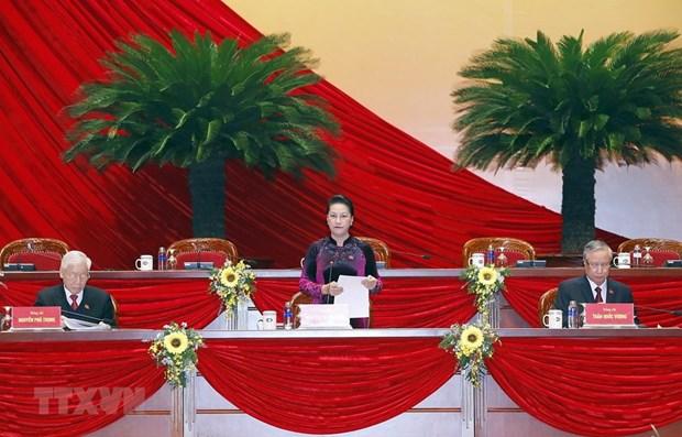 Concluyen sesion preparatoria del XIII Congreso Nacional del Partido hinh anh 1