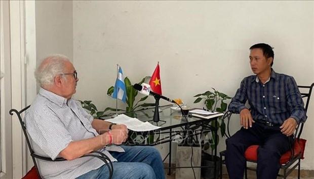 Funcionario argentino destaca el liderazgo del Partido Comunista de Vietnam hinh anh 1