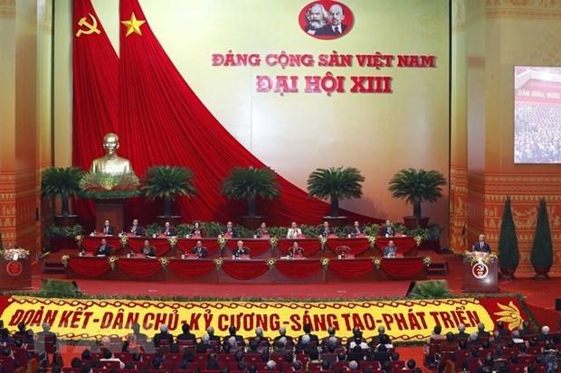 Partidos y organizaciones internacionales envian mensajes de felicitaciones al XIII Congreso Nacional del PCV hinh anh 1