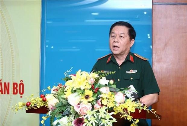Destacan vision y liderazgo del Partido Comunista de Vietnam en defensa de Patria hinh anh 1
