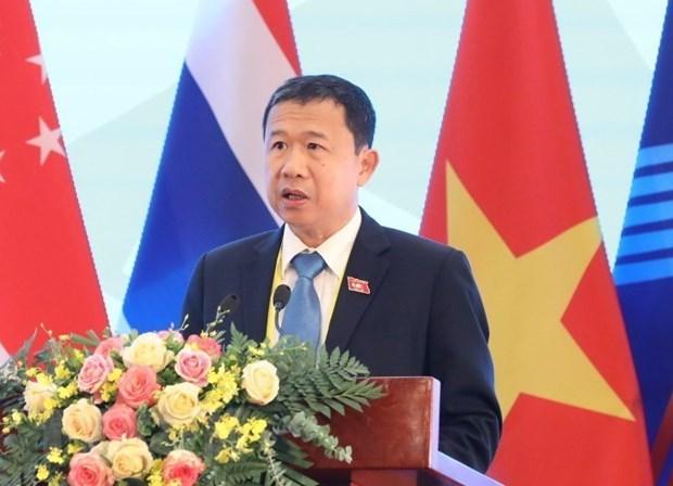 Vietnam asiste a reunion en linea de Asamblea Parlamentaria de Francofonia hinh anh 1