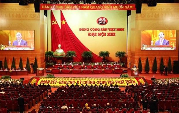 Medios internacionales publican informaciones sobre la inauguracion del XIII Congreso Nacional del PCV hinh anh 1