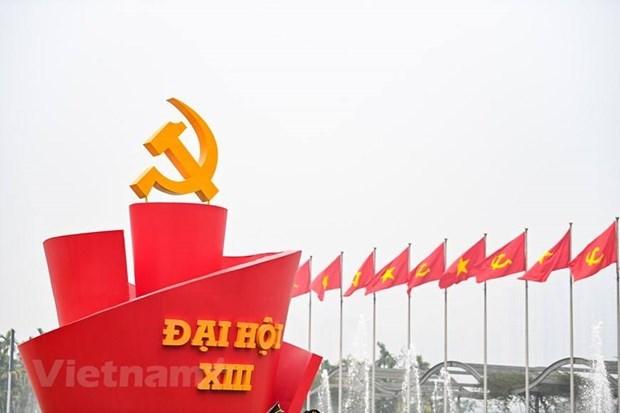 Partido del Trabajo de Republica Popular Democratica de Corea desea exito al XIII Congreso partidista de Vietnam hinh anh 1