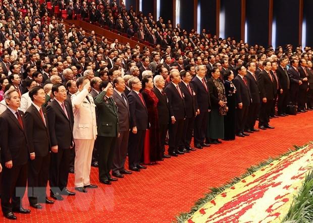 Inauguran XIII Congreso Nacional del Partido Comunista de Vietnam hinh anh 2