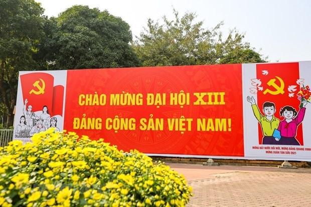 Cuba congratula al XIII Congreso Nacional del Partido Comunista de Vietnam hinh anh 1