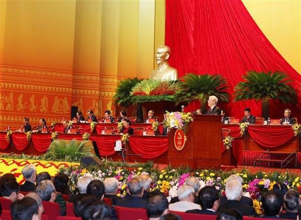 XIII Congreso Nacional del Partido Comunista de Vietnam: Novedades en orientacion de desarrollo hinh anh 1