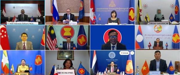Celebran XVII Reunion de Altos Funcionarios de ASEAN-Rusia hinh anh 1
