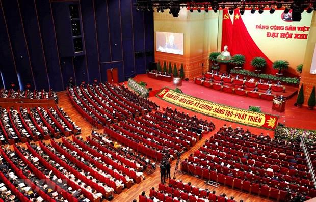 Medios internacionales destacaron la importancia del XIII Congreso partidista de Vietnam hinh anh 1