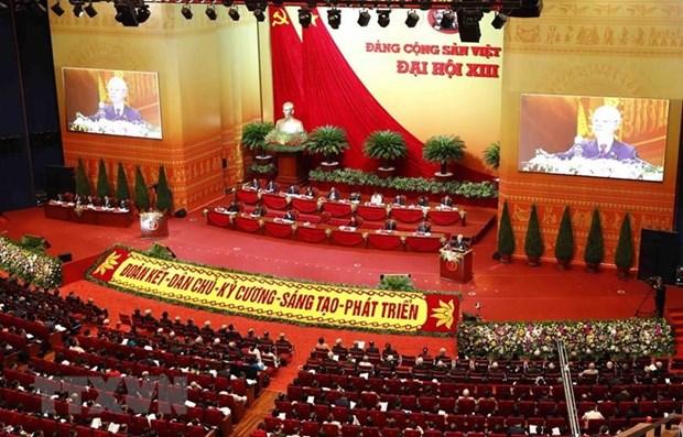 Congreso partidista de Vietnam, en foco de prensa internacional hinh anh 1
