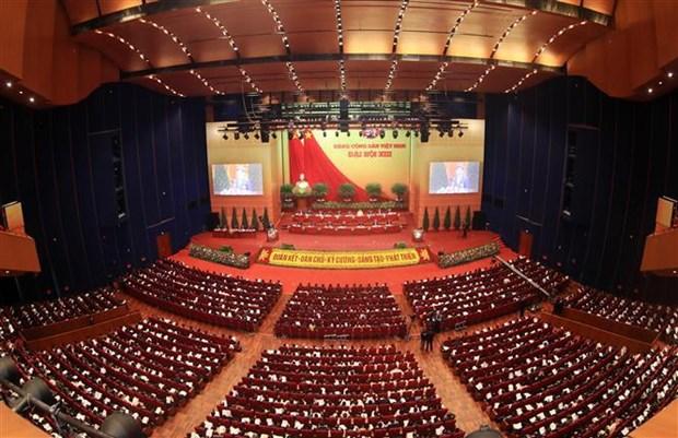 Proponen en XIII Congreso Nacional partidista soluciones para el desarrollo vietnamita en proximo periodo hinh anh 1