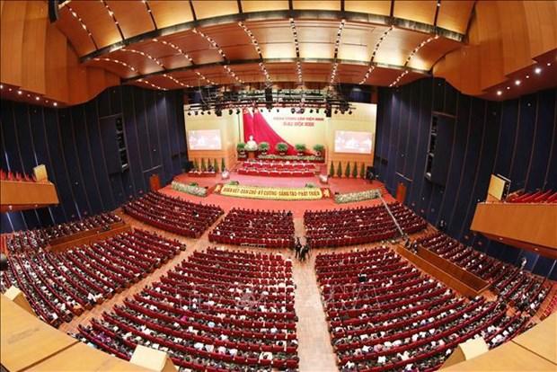 Comite Central del Partido Comunista de Vietnam de XIII mandato contara con 200 miembros hinh anh 1
