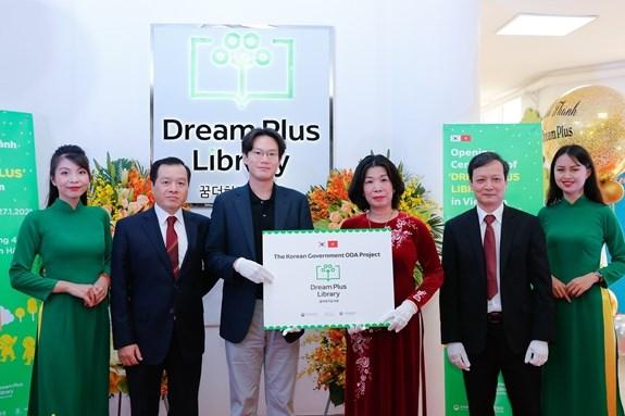 Inauguran biblioteca para ninos en Hanoi hinh anh 1