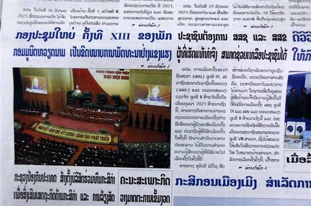 XIII Congreso Nacional partidista marca fuerte desarrollo de Vietnam, segun prensa internacional hinh anh 1