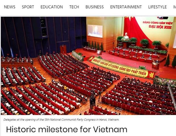 Periodico sudafricano resalta la diplomacia integral y moderna de Vietnam hinh anh 1