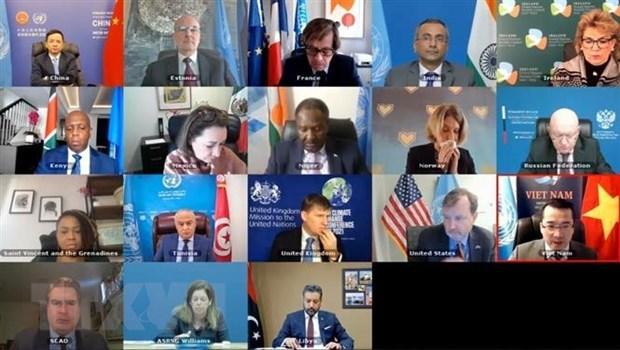 Vietnam saluda progreso positivo en politica y seguridad en Libia hinh anh 1