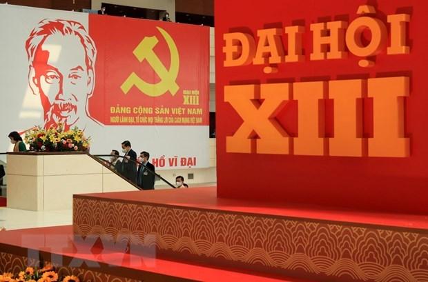 El XIII Congreso Nacional del Partido revisa lista de candidatos al Comite Central hinh anh 1