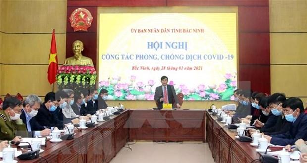 Provincia vietnamita de Bac Ninh aplica distanciamiento social en comuna de Lam Thao hinh anh 1