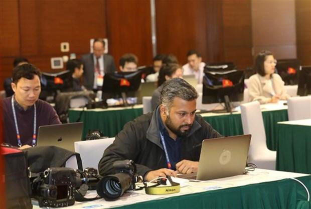 Cobertura en linea sobre Congreso del PCV: ideal oportunidad para reporteros extranjeros hinh anh 1