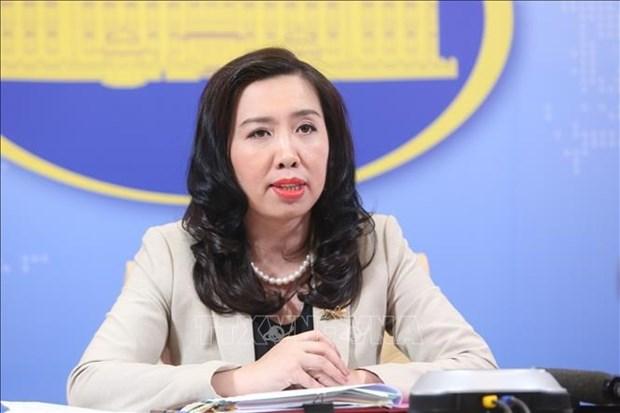 Facilitan cobertura en linea sobre Congreso partidista de Vietnam para reporteros extranjeros hinh anh 2