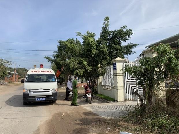 Provincia altiplana vietnamita registra cinco casos sospechosos de COVID-19 hinh anh 1