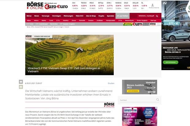 Periodico aleman: Momento para invertir en Vietnam hinh anh 1