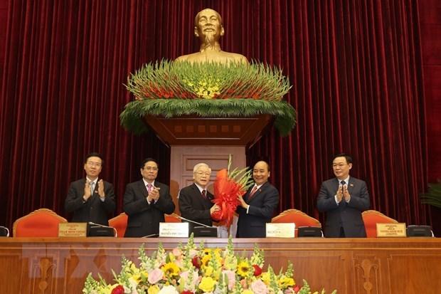 Nguyen Phu Trong reelegido como secretario general del Partido Comunista de Vietnam hinh anh 2