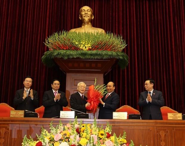 Nguyen Phu Trong reelegido como secretario general del Partido Comunista de Vietnam hinh anh 1